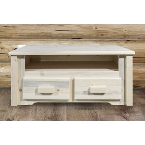 Abella Rustic Coffee Table by Loon Peak