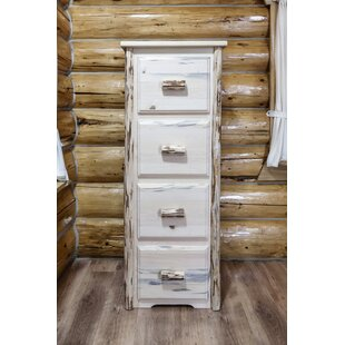 Loon Peak Abordale 4 Drawers File Cabinet