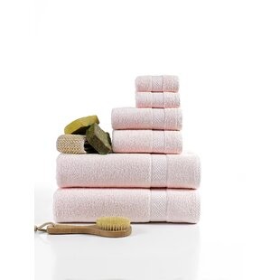 Dabria Luxurious 6 Piece Turkish Cotton Hand Towel Set
