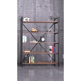 Amoban 70 H x 35 W Metal Etagere Bookcase by 17 Stories