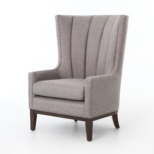 Elderton Wingback Chair by Gracie Oaks