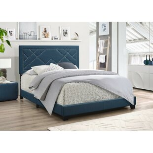 Grubb Upholstered Panel Bed by Winston Porter