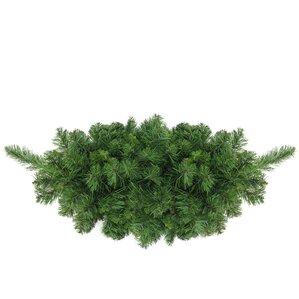 lush mixed pine artificial christmas swag