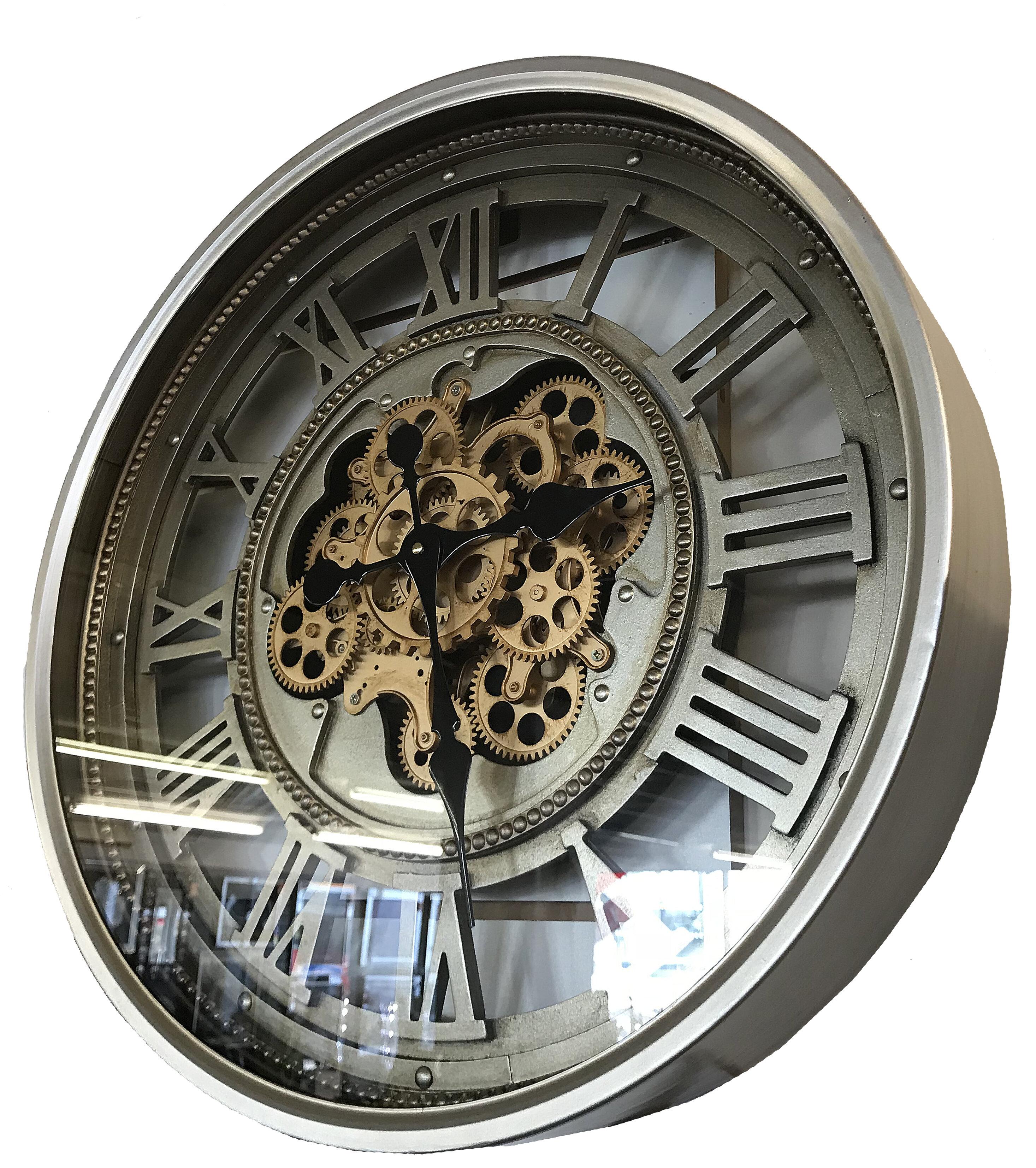 Attractive Laurel Foundry Martingale Vintage Retro Aged Mechanical Moving Gear  Skeleton 60cm Wall Clock U0026 Reviews | Wayfair.co.uk