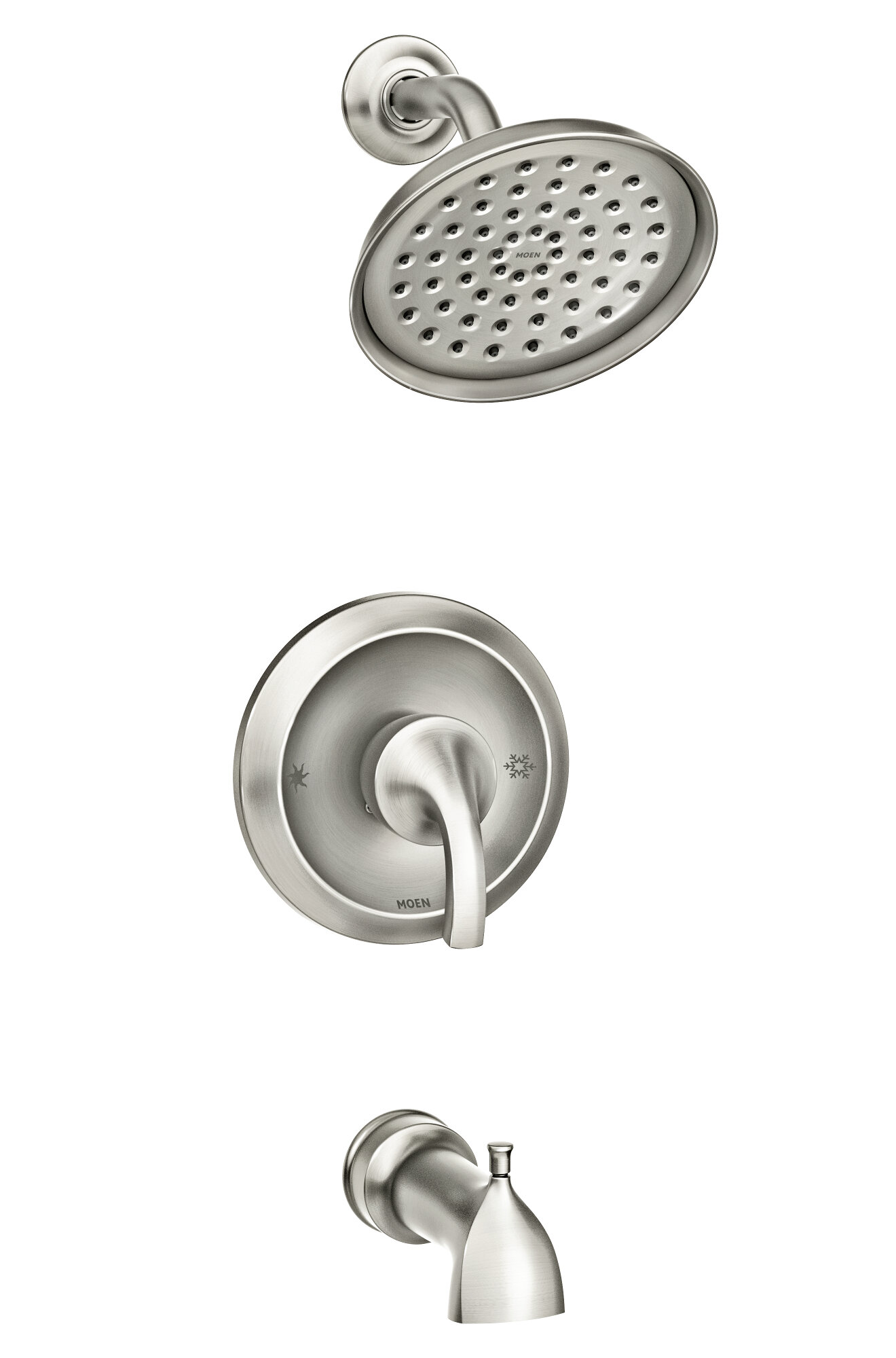 Hamden Posi Temp Dual Function Tub And Shower Faucet With Valve Trim And Diverter