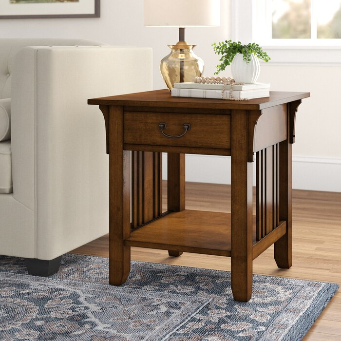 wholesale dealer 45a10 bd89d Schubert End Table with Storage