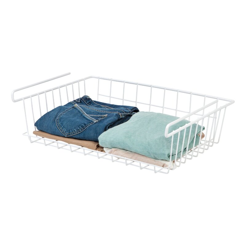 IRIS Undershelf Hanging Wire Basket | Wayfair