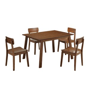 Kassandra 5 Piece Dining Set by Mercury Row