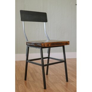 Mitzi Industrial Dining Chair Millwood Pines