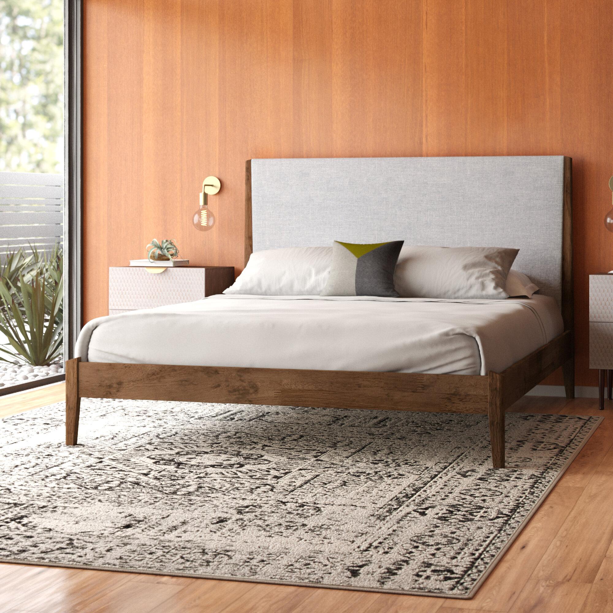 Platt Upholsterd Platform Bed Reviews