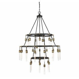 Gracie Oaks Wuest 35-Light LED Chandelier