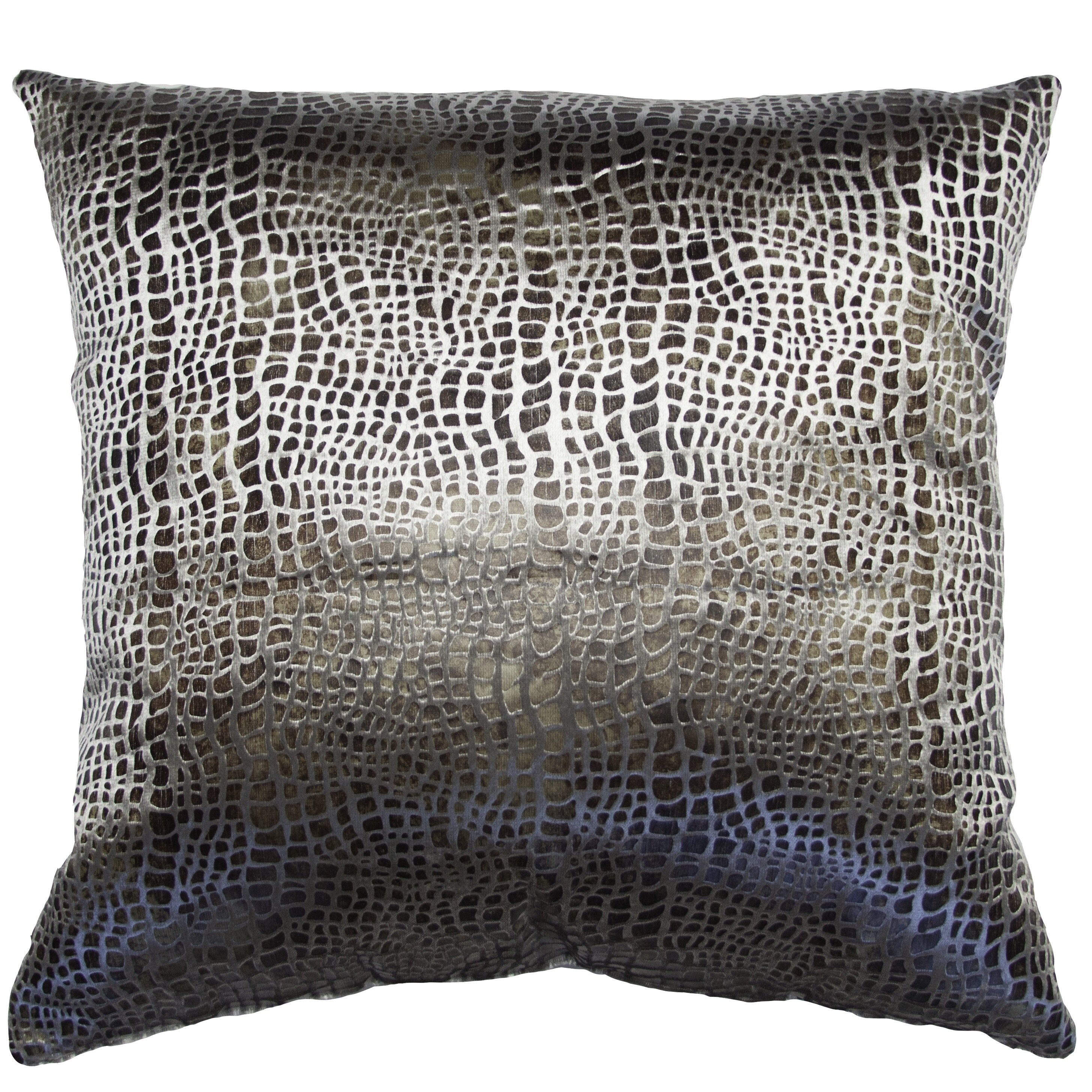 Square Feathers Milan Exotic Feathers Animal Print Pillow Perigold