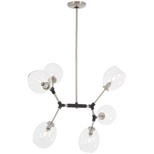 Ivy Bronx Glasser 6-Light Chandelier