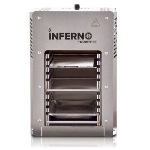 Inferno Single Infrared 1-Burner Propane Gas Grill By Hulk Power
