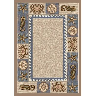 Signature Sea Life Sandstone Area Rug