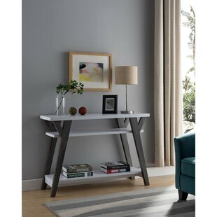 Hook Wooden Console Table
