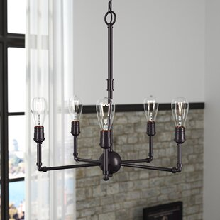Williston Forge Wilt 5-Light Candle Style Chandelier
