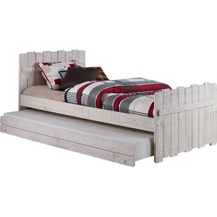 Inexpensive Wander Twin Panel Bed with Trundle by Harriet Bee Reviews (2019) & Buyer's Guide