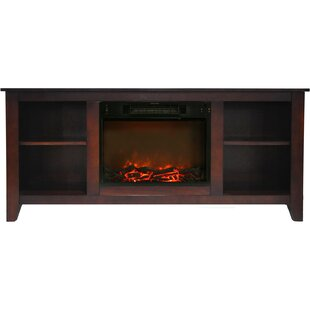 Savings Brook Hollow TV Stand for TVs up to 60 with Fireplace By Alcott Hill