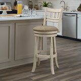 Beecroft 30.5 Swivel Bar Stool by Gracie Oaks