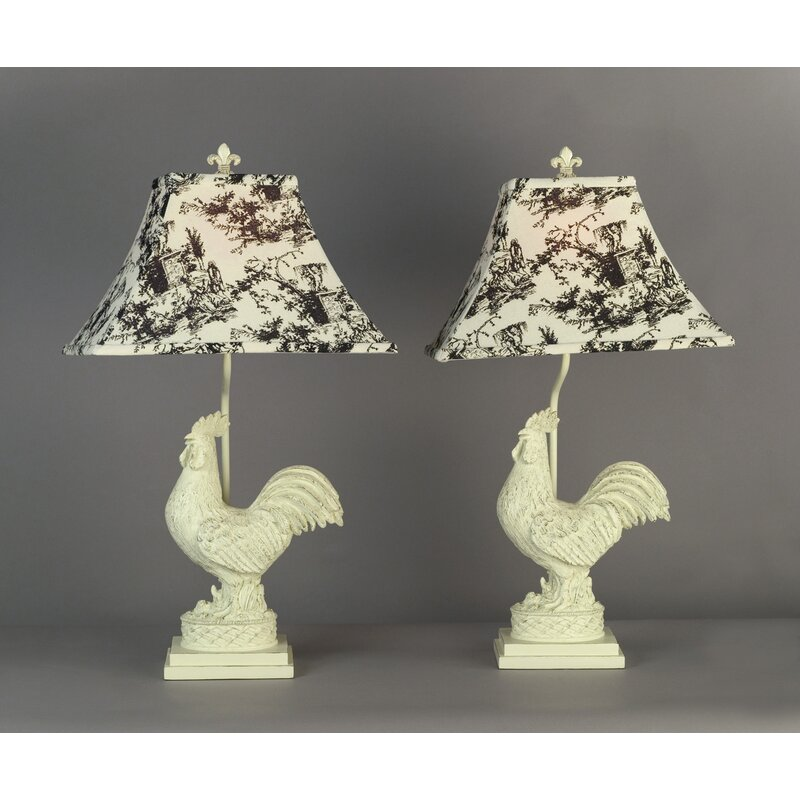 """AA Importing Rooster 25"""" Table Lamp"""