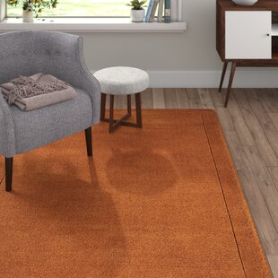 Mathilde Hand-Woven Terracotta Area Rug by Longweave