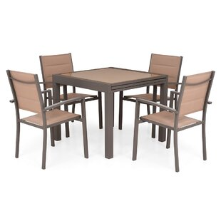 Efraim 4 Seater Dining Set By Sol 72 Outdoor