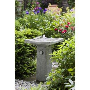 Concrete Bjorn Fountain