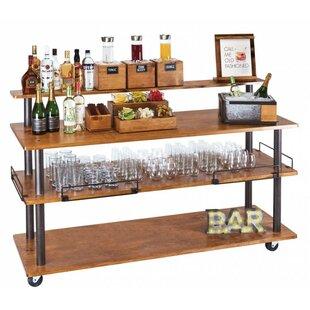 Madera U-Build Bar Cart by Cal-Mil
