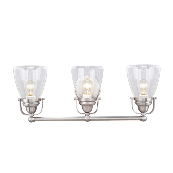 Mayfield Metal 3 Light Vanity