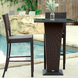 Dickenson 3 Piece Bar Height Dining Set