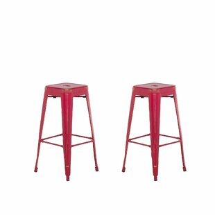 Iowa Park Metal 76cm Bar Stool (Set Of 2) By Williston Forge