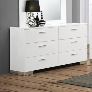 Campton 6 Drawer Double Dresser