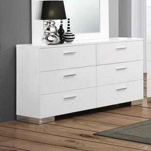 Campton 6 Drawer Double Dresser by Orren Ellis Best Choices