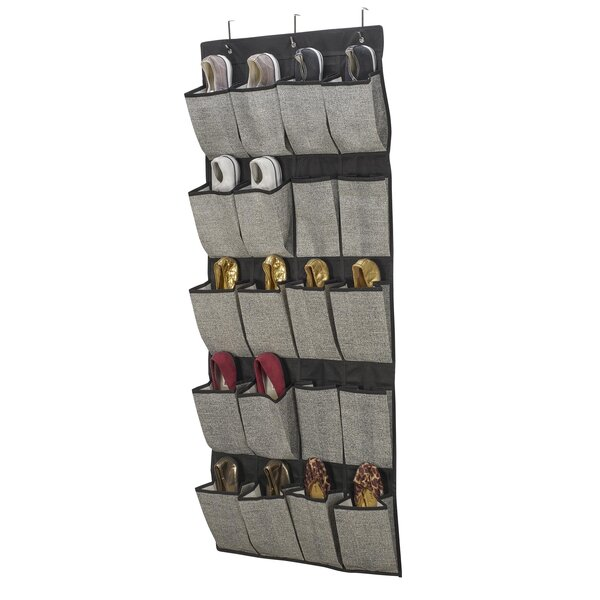 over the door shoe racks hanging organizers youll love wayfair - Over The Door Shoe Rack