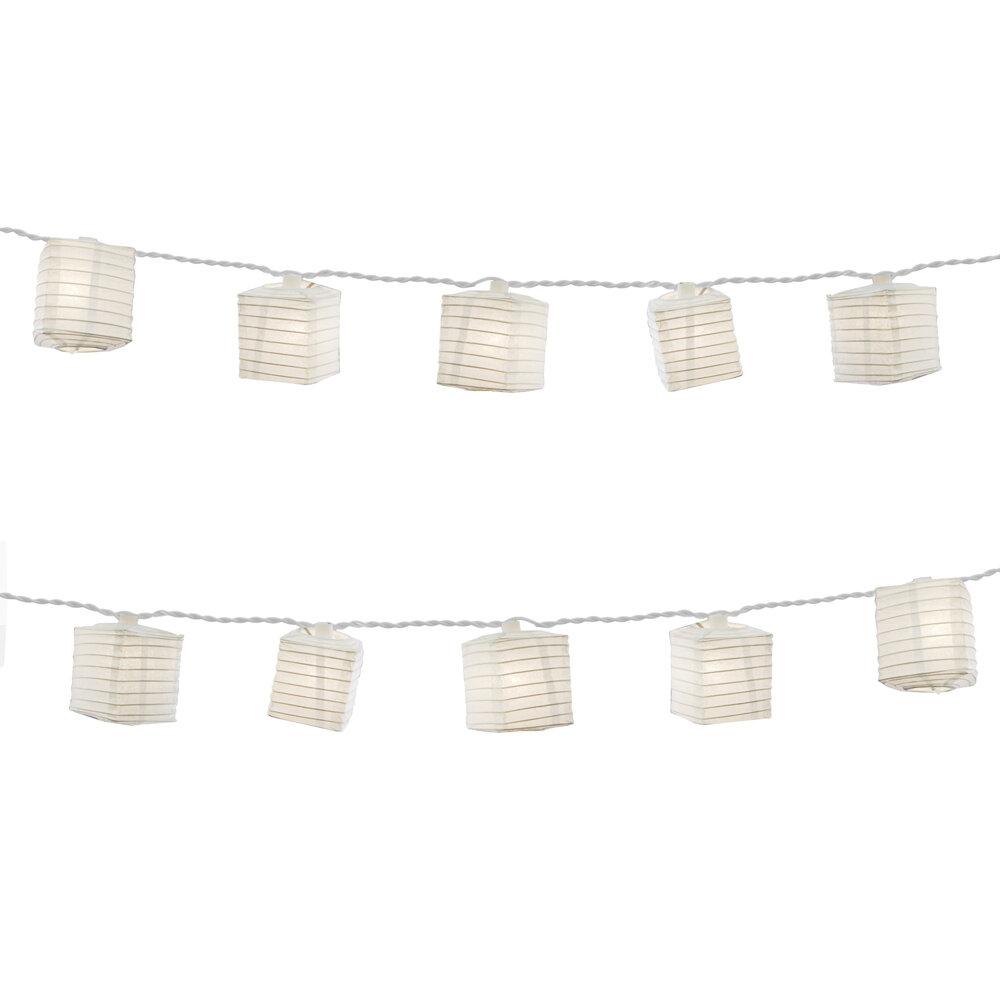 The Holiday Aisle Kennon Outdoor 10 Bulb Novelty String Light Reviews Wayfair