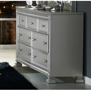 Reviews Anissa Wooden 7 Drawer Double Dresser by Rosdorf Park