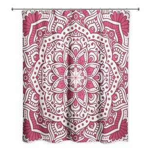 Top Reviews Daley Mandala Pattern Shower Curtain By Bungalow Rose