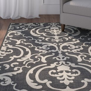 Herefordshire Black/Sand Indoor/Outdoor Area Rug