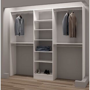 Purchase Demure Design 87W Closet System ByTidySquares Inc.