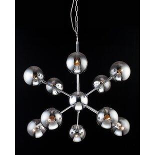 Wrought Studio Stickles 10-Light Chandelier