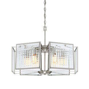 Designers Fountain Pivot 6-Light Shaded Chandelier