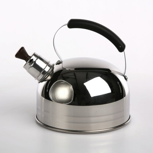Marquetta 1.25L Stainless Steel Whistling Stovetop Kettle Sy