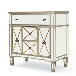 Savanna Mirrored 5 Drawer Cabinet by Rosdorf Park