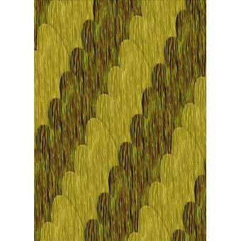 East Urban Home Dawid Wool Yellow Green Area Rug Wayfair