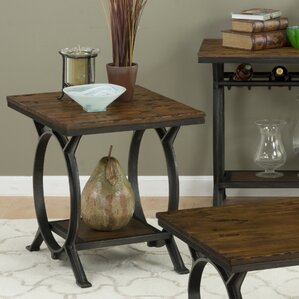 Red Cliff End Table by Loon Peak