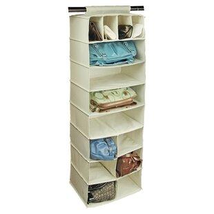 Affordable Price Natural Canvas Storage 14 Pocket Handbag Organizer ByRichards Homewares