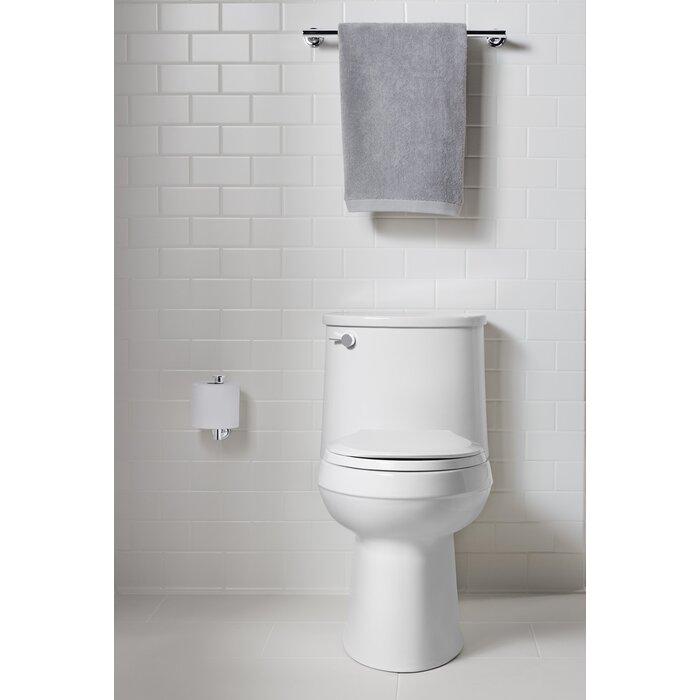kohler devonshire 128 gpf twopiece elongated comfort height toilet with aquapiston technology all images defaultname