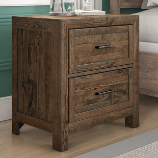 Craigsville 2 Drawer Nightstand by Three Posts