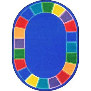 Looking for Kid Essentials Blue Indoor/Outdoor Area Rug ByJoy Carpets